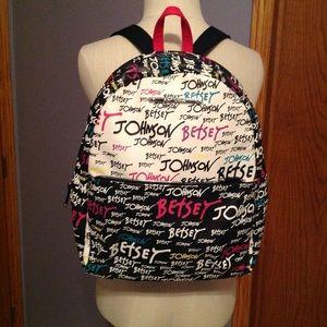 NWOT Betsey Johnson Backpack